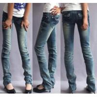 China Women Stock Jeans, Top Quality Low Price wholesale