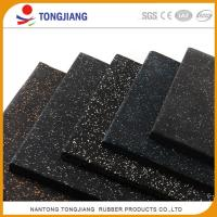 China high quality high density hot sale cheap recycle Color flecks EPDM rubber flooring brick rubber tile on sale