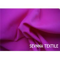 China Solid Plain Colors Nylon Elastane Fabric , 152cm Width Nylon Fabric For Bags wholesale