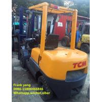 China 3 T Reconditioned Forklift Trucks Diesel Fuel Type 3000 Kg Rated Loading Capacity wholesale