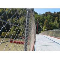 China Durable Stainless Steel Safety Net / Stainless Steel Safety Mesh For Staircase on sale