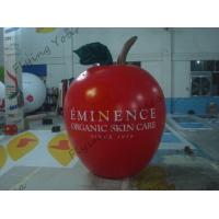 China 6ft High Apple Fruit Shaped Balloons For Exhibition Display , Inflatable Hanging Balloon wholesale