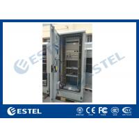China Standard Industrial Outdoor Telecom Cabinet , Outdoor Electrical Cabinet With Rectifier System wholesale