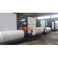 China Virgin materia pp Woven Tubular Fabric In Roll For making rice,fertilizer, sand,cement,food,feed,chemical,Building mater wholesale