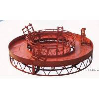 China Rounded Lifting Suspended Platform Cradle with 1500kg Capacity wholesale