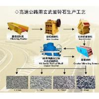 China Basalt Crushing Technics for Highway wholesale
