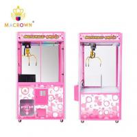 China Full Pink Toy House Claw Machine Amusement Arcade Games Coin Operated Catcher wholesale