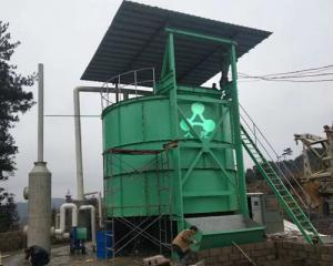 China 64m³ 12KW Industrial Fermentation Tank For Livestock Manure wholesale