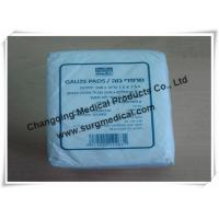 China Plain Absorbent Cotton Gauze Dressing Swabs Non Sterile for Wound Care on sale