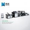China High Class D Cut Bag Making Machine / High Output Box Bag Making Machine wholesale