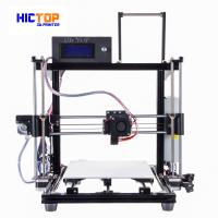 Quality Auto Leveling 3d printers desktop PLA / ABS / WOOD Flexible in Black for sale