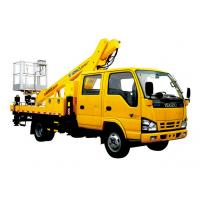 China Durable Basket Truck Mounted Lift , 16m XCMG Articulating Boom Lift wholesale