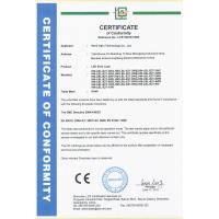 Hami Opto Technology Co., Ltd Certifications