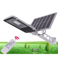 China 10W 30W 50W Outdoor IP65 Integrated Solar Powered Parking Lot Lights With Remote Control wholesale