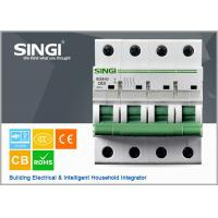 China 230V single phase 4P Miniature Circuit Breakers for protection overload and short circuit wholesale