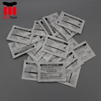 China Pre Saturated Alcohol Cleaning Wipe Magicard Cleaning Card 99.9% IPA Solution on sale