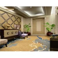 China Commercial PVC Flooring New Zealand Wool With Nylon Material Eco - Friendly wholesale