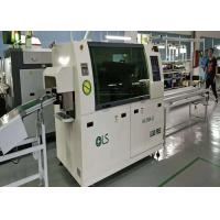 China Double Wave Small Wave Soldering Machine 300mm PCB Width For DIP Products LED Driver on sale
