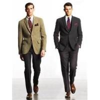 Buy cheap stylish formal classic 65% polyester 35% viscose mens business suits for meeting from wholesalers
