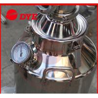 China 1 Layer Manual Home Distilling Equipment , Copper Stills For Moonshine wholesale