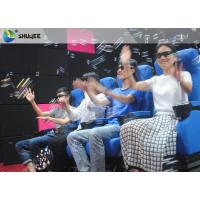 China Smooth Seat Action 4d Cinema Theater With Vibration / Movement / Push Back wholesale
