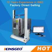 China High Low Temperature Universal Testing Machines / Carton Compression Tester wholesale