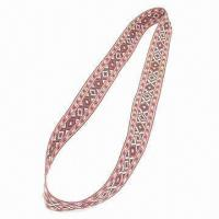 China Woven Lanyard, Customized Logos and Patterns are Accepted, with One or Double Layers wholesale