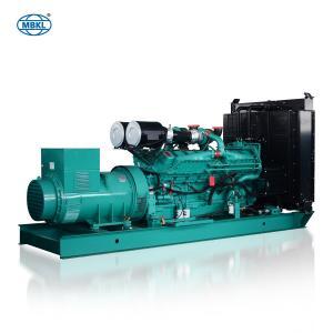 China Industrial 1000kva Generator with Cummins Engine 1000 kva Diesel Generators for Sale on sale