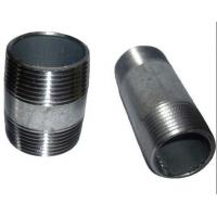 China ASTM A733 ASTM A53 welded Steel Pipe Nipples ,Thread ANSI / ASME B1.20.1 wholesale