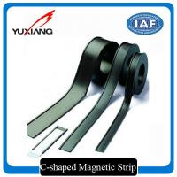 China C Shaped Flexible Magnetic Strips Multi Pole On One Side Magnetization wholesale