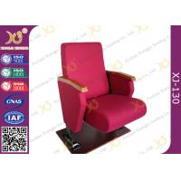 China Full Upholstered Cover Auditorium Chairs With Soft Closing Seat wholesale