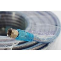 Buy cheap Terminated RG6 CATV Cable with Two Golden F Connectors for Satallite System Use from wholesalers