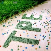 China Recycle TPE granules For Artificial Grass Synthetic Grass Infilling Outdoor Sports Field wholesale
