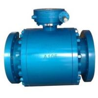 China Fire Safe Trunnion Ball Valve / Fully Welded Body Ball Valves DBB Function on sale