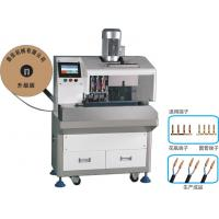 China SPT Wire Stripping Vase Terminal Crimping Machine , Fully Automatic Wire Crimping Machine wholesale