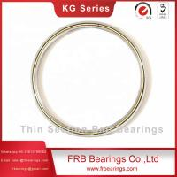 China KG400AR0 thin section ball bearings,GCr15SiMn thin ball bearings,angular contact bearings for Machine tools on sale