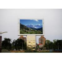 Buy cheap High Resolution Led Video Display Screen / Outdoor LED Billboard 1R1G1B SMD P8 from wholesalers