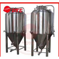 China 7BBL Conical Beer Fermenter , Conical Stainless Steel Fermenter wholesale