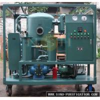 China Insulation Oil Purification Systems , Regenerate Deteriorated Transformer Oil Purifier Machine wholesale