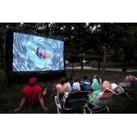 China Outdoor Theater Screen Inflatable Cinema Screen Portable Projection Screen wholesale