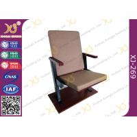 China Slim Type Auditorium Theater Chair Without Writing Pad For Kenya Church wholesale