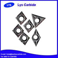 China Carbide turning tool inserts DCGX for Al alloys on sale