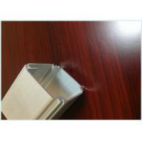 China Silvery Anodized Extruded Aluminum Shapes Profiles For  Industry Aluminum Extrusion Parts wholesale