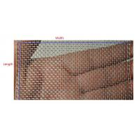 China Stainless Steel Wrapped Edge Wire Mesh|Closed Selvage Mesh on sale