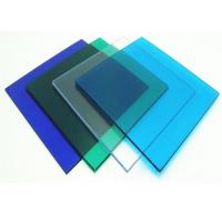 China Anti Uv 4 * 8ft Clear Polycarbonate Sheet With High Light Transmission wholesale