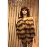 China Winter 2014 Tibet Lamb Skin Vest for Lady/Striped Sheepskin Vest wholesale