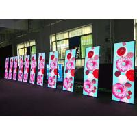 Buy cheap Portable P2.5 Slim Indoor PLED Poster Display Screen For The Reception / Stores from wholesalers