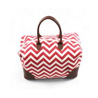 Buy cheap Durable Custom Canvas Tote Bags , Womens Overnight Travel Bag With Large Space from wholesalers