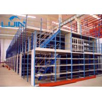 China Ground + Two Flooring 22FT/6.5M Height Shelving With Mezzanine Floor Racking wholesale