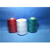 China Plastic Cone Dyed Polyester Industrial Sewing Thread For Textile / Garment wholesale